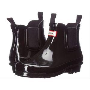 Hunter Kids Original Chelsea Gloss Boots